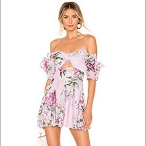 NWOT - Alice McCall peony dress. Size 6.